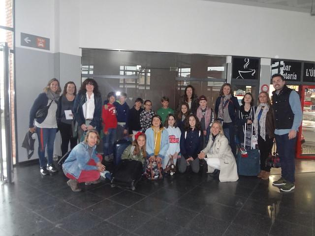 Comiat dels alumnes i mestres d'Holanda i Alemanya