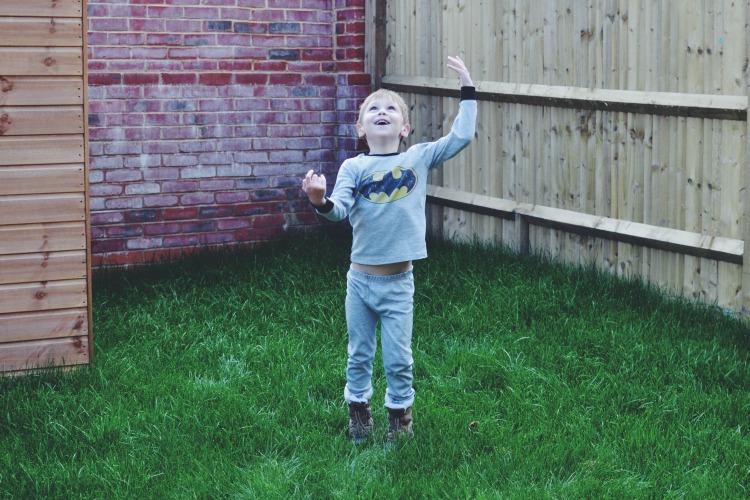 catch in the garden