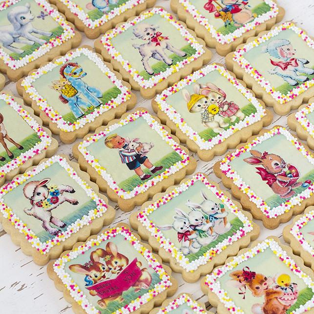 galletas papel de azúcar