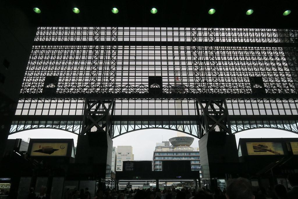 懷念的現代風京都車站