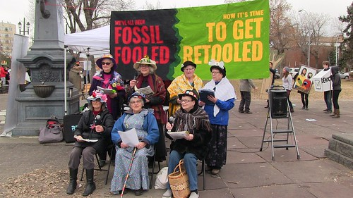 Fossil Fool's Day
