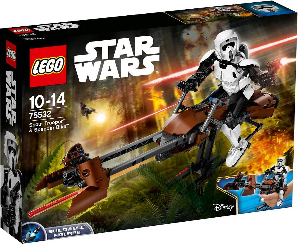 LEGO Star Wars 75532 - Scout Trooper & Speederbike