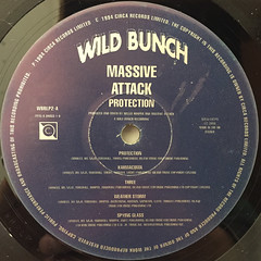 MASSIVE ATTACK:PROTECTION(LABEL SIDE-A)