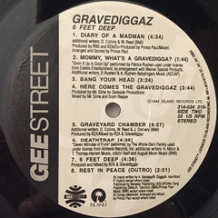 GRAVEDIGGAZ:6 FEET DEEP(LABEL SIDE-B)