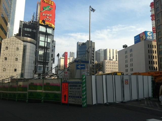 三原橋地下街解体中 (4)