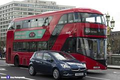 Wrightbus NRM NBFL - LTZ 1619 - LT619 - Not In Service - Abellio London - London 2017 - Steven Gray - IMG_8539
