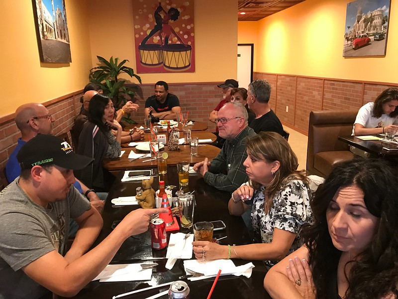 2017-04-27 Club Dinner Meeting @ Cuban Foods