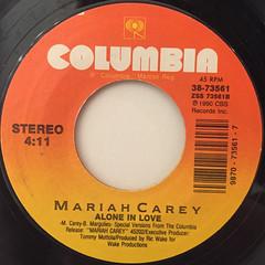 MARIAH CAREY:SOMEDAY(LABEL SIDE-B)