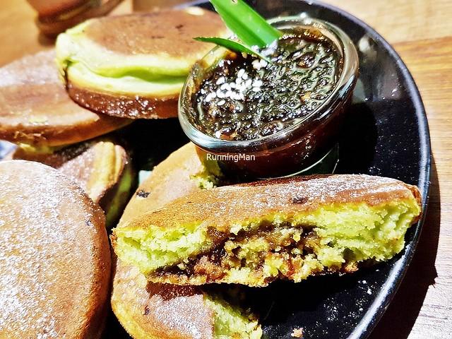 Pandan Gula Melaka Coconut Pancake