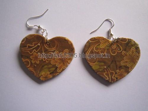Handmade Jewelry - Card Paper Earrings (Album 3) (9) | Flickr
