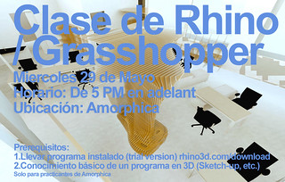 Amorphica Design Research Office - Curso Rhino / Grasshopper | by Amorphica