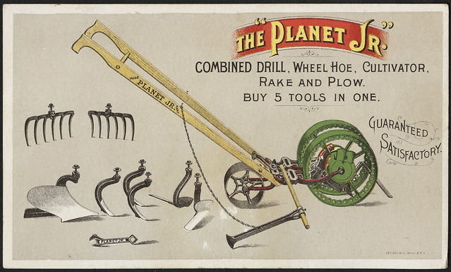 Landscape Rake Vs Cultivator : Combined drill wheel hoe cultivator ra flickr photo sharing