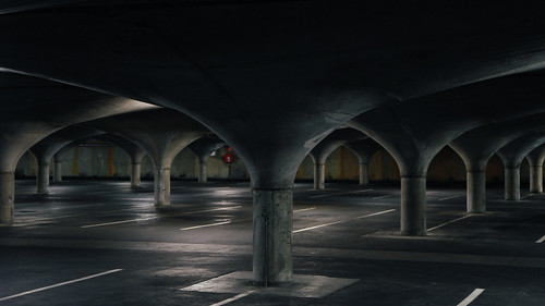 Melbourne University Underground Car Park