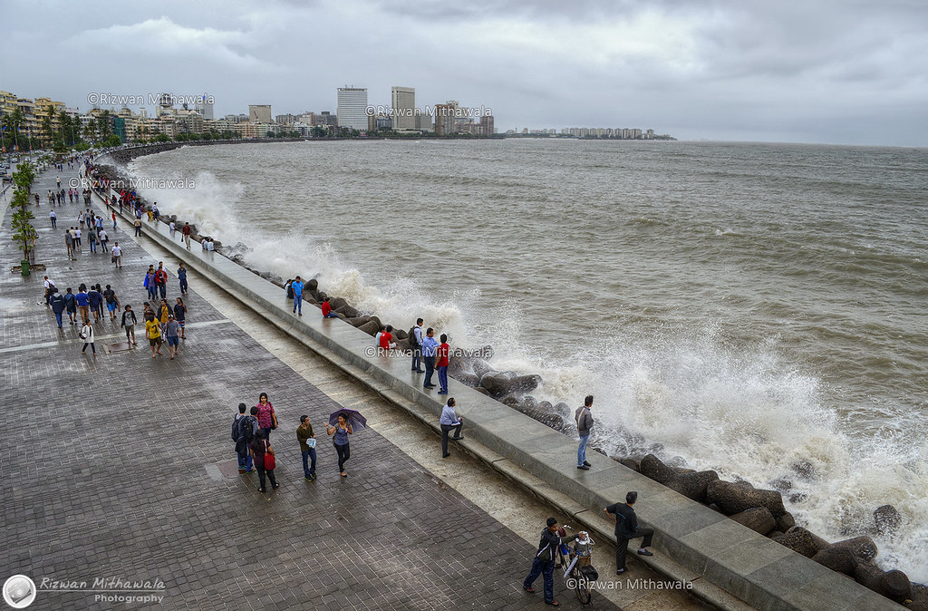High Tide Marine Drive Mumbai India Behance Ii