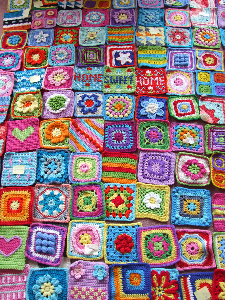 Granny Squares Blogged At Wwwwoolnhookcom Designs From 1 Flickr