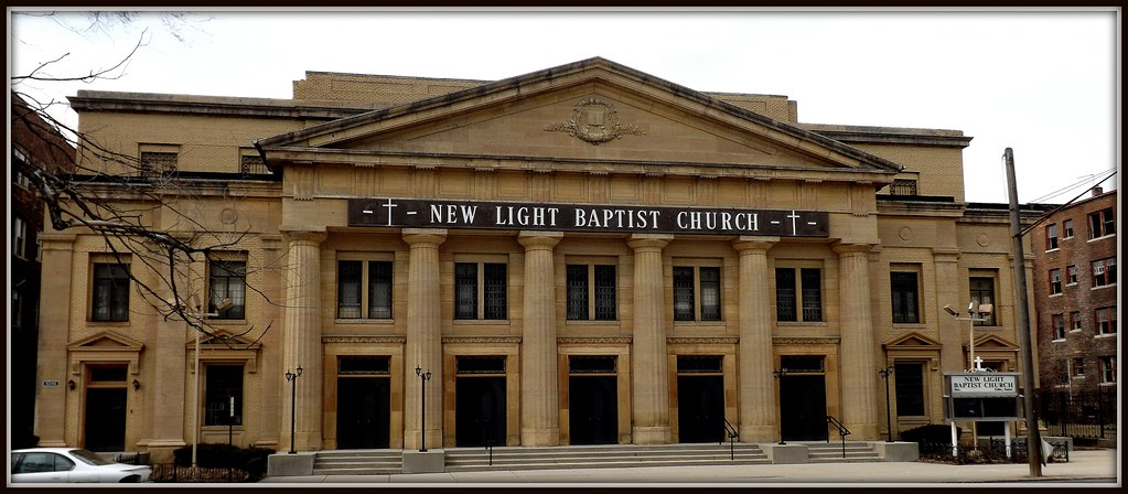 Attractive ... New Light Baptist Church: (Former Fourth Christian Science Church)  Detroit  MI