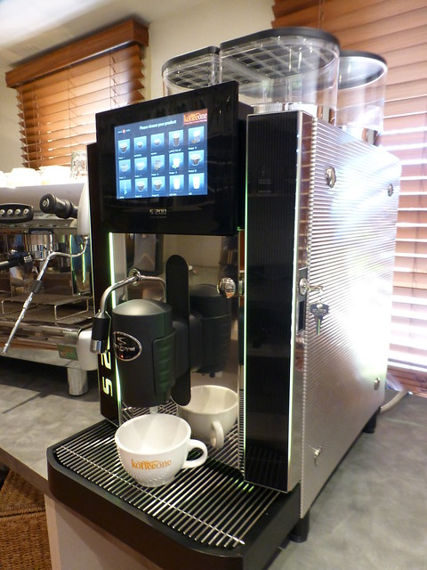 Commercial Coffee Machine Rex Royal Touch Screen From Www