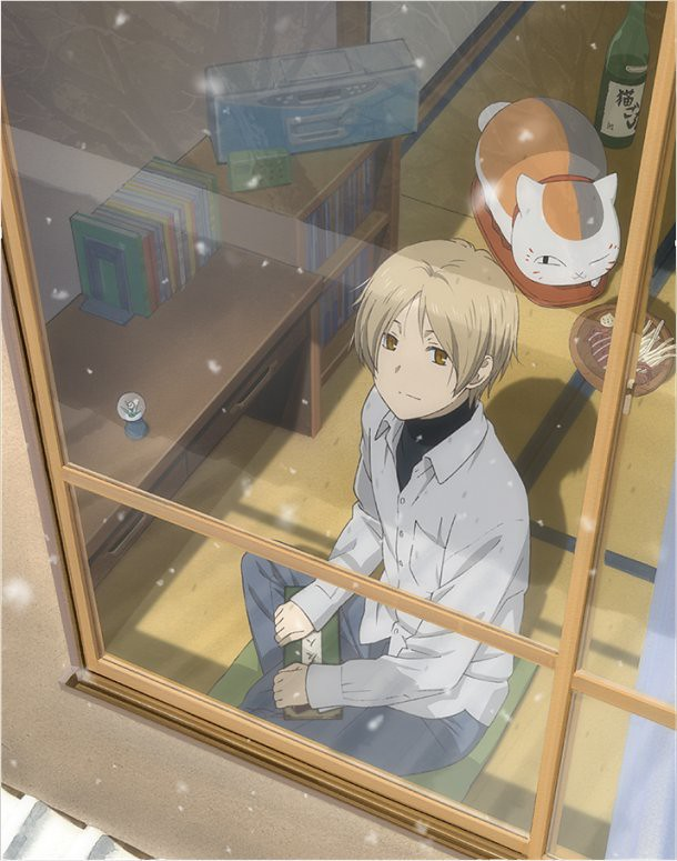 131003(1) - 慶祝漫畫誕生10週年、全新故事OVA《夏目友人帳 ~いつかゆきのひに~》確定2014/2/5正式發售!