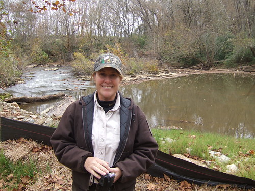 Laura Fogo, USFWS Biologist at the Smitherman's Mill Dam Removal | by USFWS/Southeast