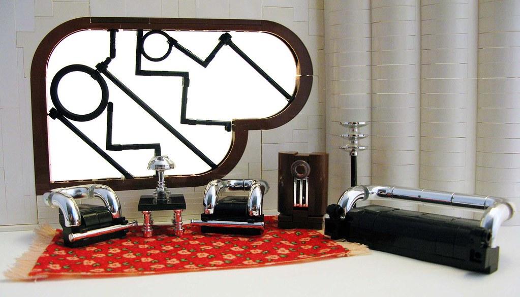 art deco living room inspired by the easy living scene f