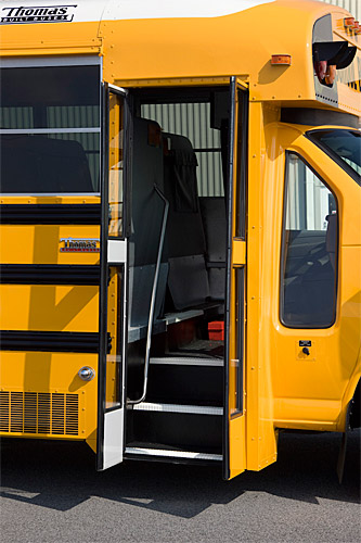 Thomas Built Buses >> 2015 Thomas Ford Minotour school bus | This is the door wher… | Flickr