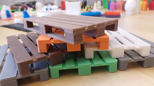 3d printed pallets miniatures the 3d model www for Gardening tools 3d model