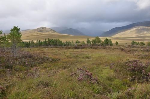 The Beinn Dearg Hills
