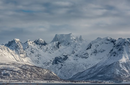 Tallest mountain here. Epic Photos from Northern Norway by Benny Høynes