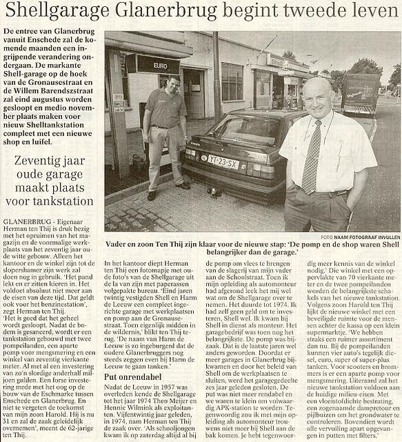 1999-00-00 Shellgarage Glanerbrug begint tweede leven