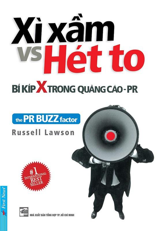 Xì Xầm vs Hét To Bí Kíp X trong quảng cáo-PR - Russell Lawson