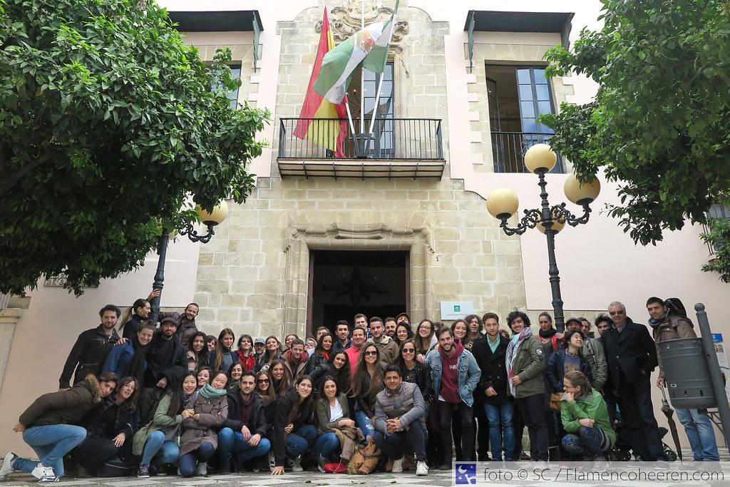 Visita a Jerez del Curso Flamenco 2016/2017 de la Fundación Cristina Heeren