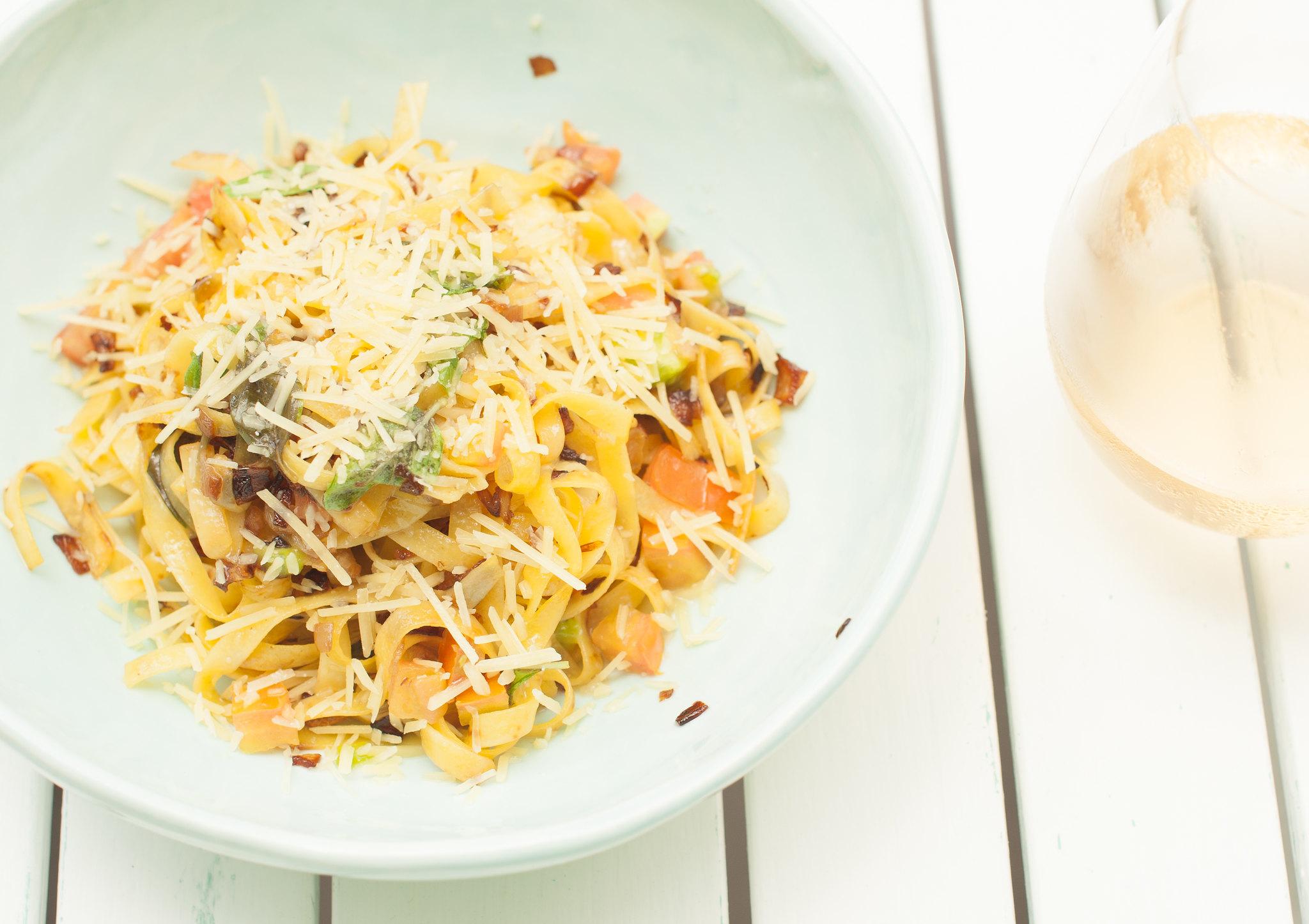 Fresh Tomato & Basil Pasta