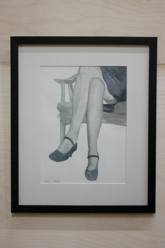 Koka Ramishvili - A Woman on a Chair 2007