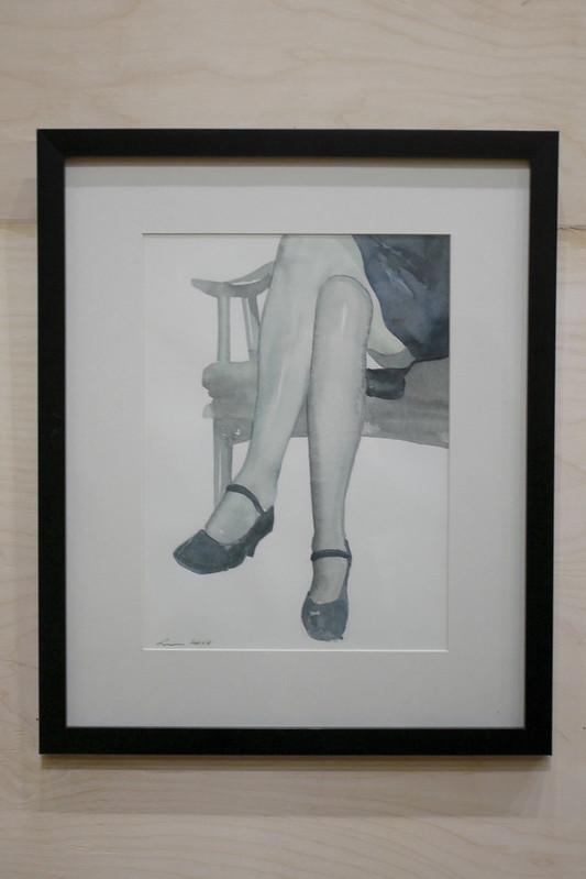 Koka Ramishvili - A Woman on a Chair 2007