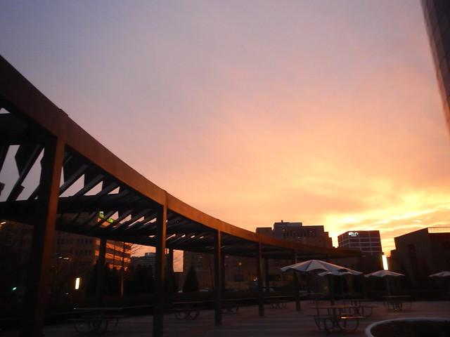 Ramada Sunset-Edit Topazz Impressions Van Gogh I 25pct