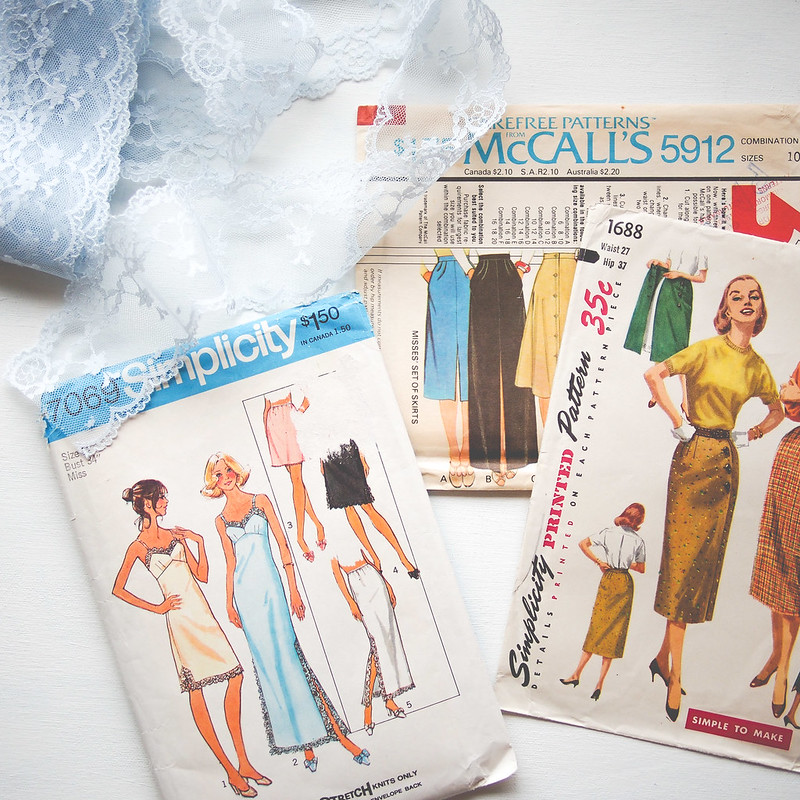 Handmade wardrobe vintage skirts