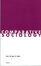 The Marxian Materialist Interpretation of History and Comparative Sociology