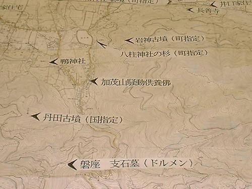 金丸八幡神社の列石