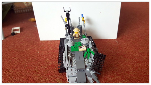 Heavy tank from the Ikraine | by Annoyed Zebra(moderately half decent, kind of alri