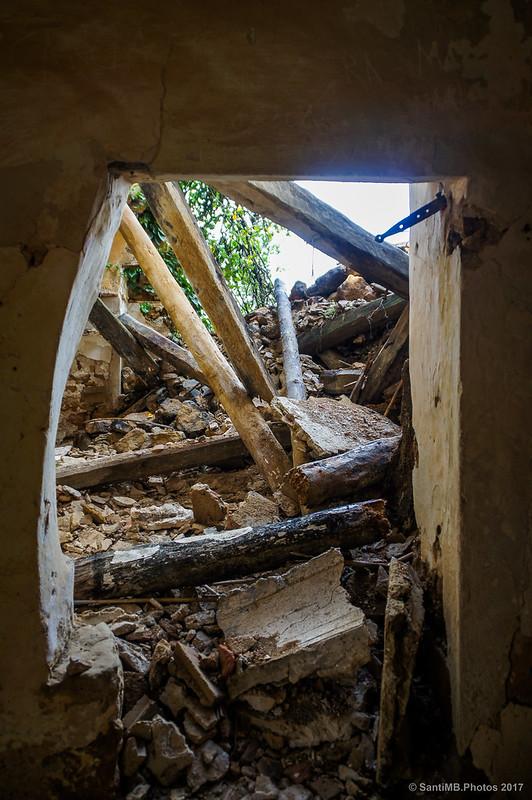 Interior de una casa de Marmellar