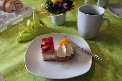 Tortenstücke zum Nachmittagskaffee
