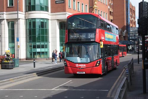 Arriva London SW8 LK16BXL