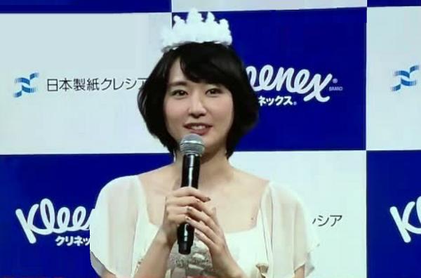 新垣結衣「クリネックス」新CM発表会