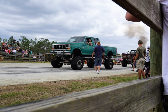 I Witnessed My First Truck Pull! Charlotte County Spring Festival & Race Day at Muddy Water Sports Park, Punta Gorda, Fla., April 22, 2017