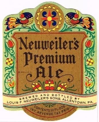 Neuweilers-Premium--Ale-Labels-Louis-F-Neuweilers-Sons
