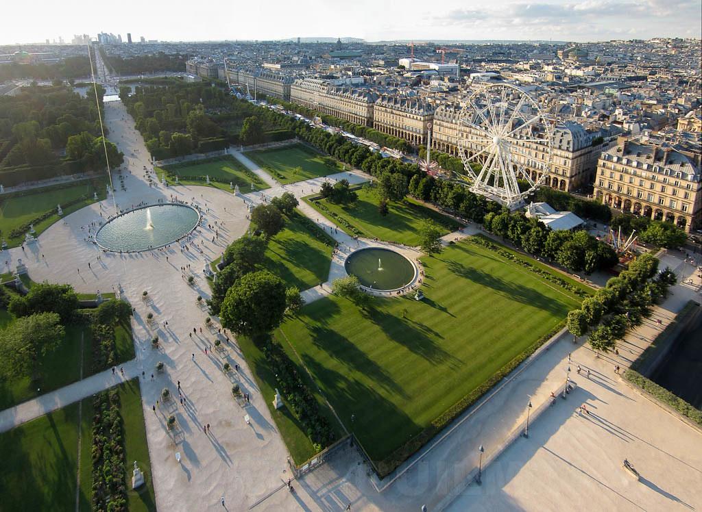 Les tuileries paris kite aerial photography for Les photos de paris