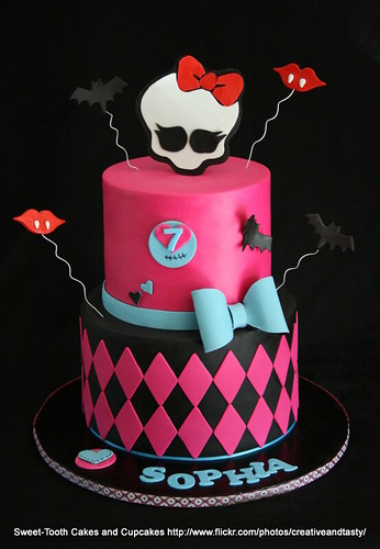 Monster High Birthday Cake Games