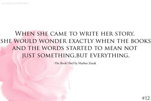 Quotes Heart Relationship Love The Book Thief By