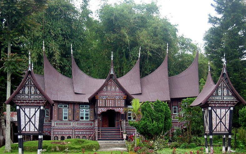 Arsitektur Rumah Adat Minangkabau Muhammad Ihsan Flickr