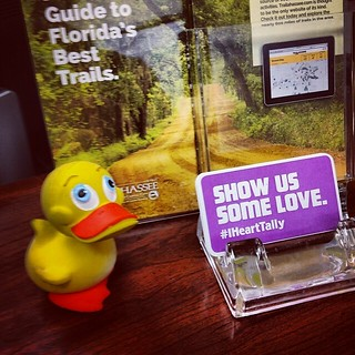 @GeoDuckie at Tallahasse, FL Visitor Center. | by ghbrett